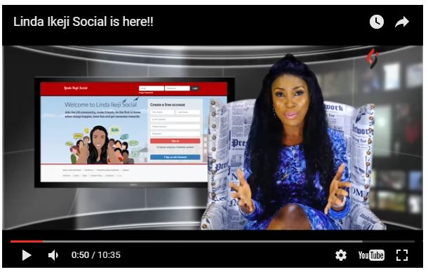 """It's Blogging and Social Networking in One Package"" – Nigerian Blogger, Linda Ikeji Launches Linda Ikeji Social"